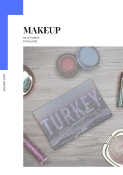 EYESHADOW PALETTE TURKEY - FOCALLURE