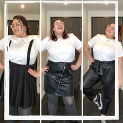 LOOK PLUS SIZE - 1 PEÇA 3 LOOKS